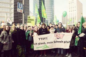 Anti TTIP Demo